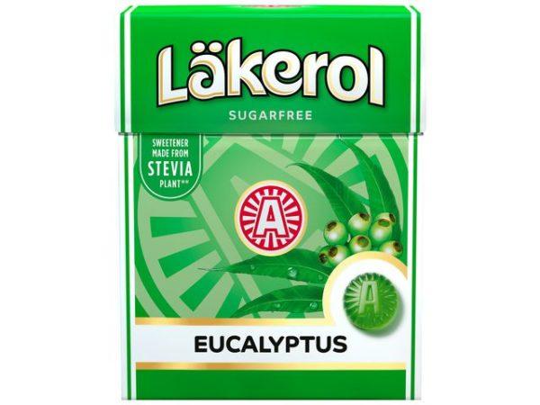 Pastiller LÄKEROL Big Pack Eucalyptus
