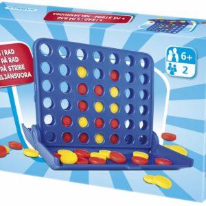 Spill 4 på rad blå