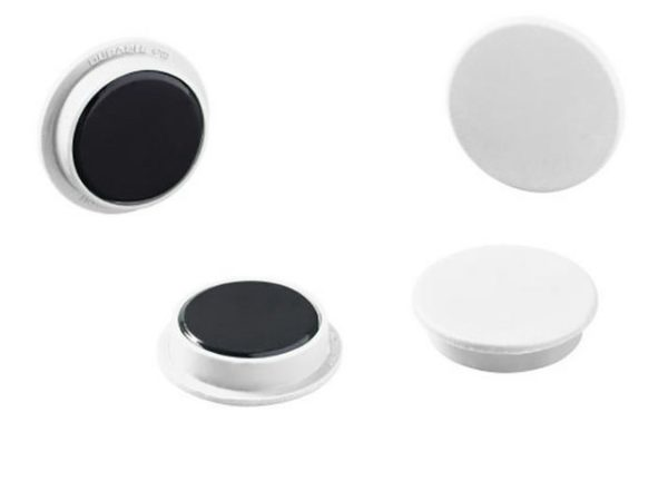 Magnet DURABLE hvit 32mm (20)