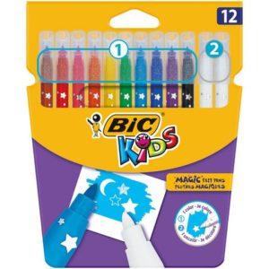 Fiberpenn BIC Kids Colour & Erase  (12)