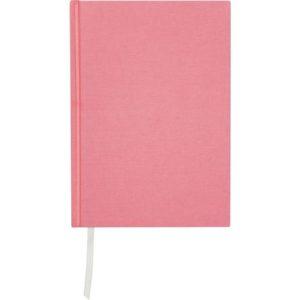 Skrivebok BURDE A5 ulinjert rosa