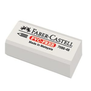 Viskelær FABER CASTELL 7086-48 Plast