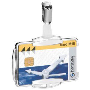 Kortholder DURABLE RFID enkel sølv (10)