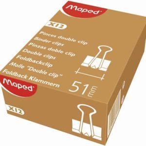 Brevklype MAPED foldback 51mm (12)