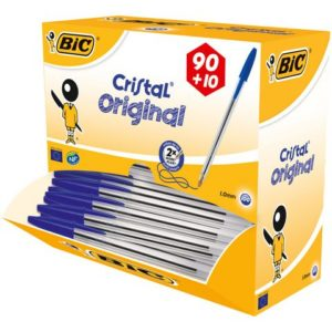 Kulepenn BIC Cristal M blå (100)