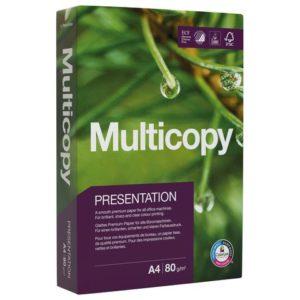 Kopipapir MULTICOPY Pres A4 80g (500)