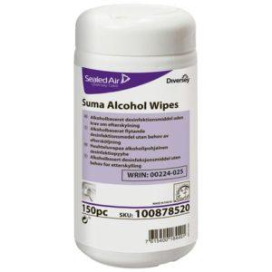 Overflatedesinfeksjon SUMA Al.Wipes(150