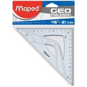 Vinkel MAPED 45 grader 21cm oppheng