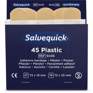 Plaster SALVEQUICK plast refill (45)