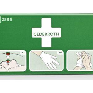 Beskyttelsespakke CEDERROTH førstehjelp