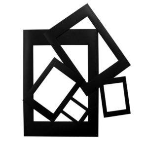 Passepartourammer svart (100)
