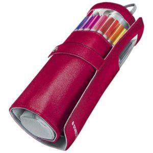 Fineliner STAEDTLER m/pennal rosa (20)