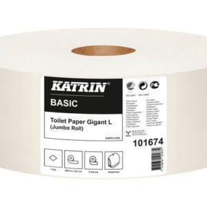 Toalettpapir KATRIN Basic Gig L 585m (6