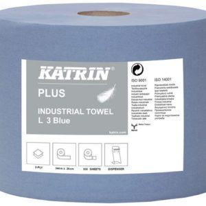 Industritørk KATRIN Plus L2 350m blå