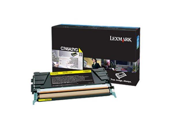 Toner LEXMARK CC C746A3YG 7K gul