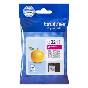 Blekk BROTHER LC3211 magenta
