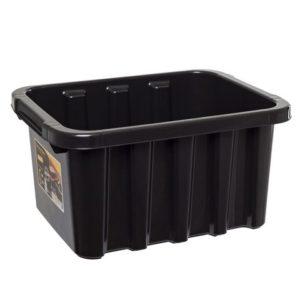 Oppbevaringsboks STRONGBOX 15L sort