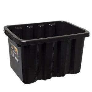 Oppbevaringsboks STRONGBOX 27L sort
