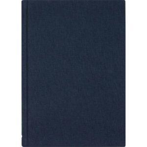 Skrivebok BURDE A5 linjer blå