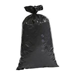 Avfallssekk 575x1000 70L sort (250)