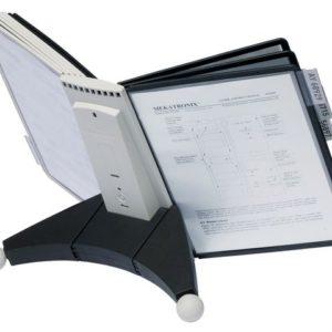 Bordstativ SHERPA® 10 lommer sort/grå
