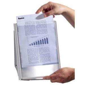 Veggstativ SHERPA® med10 lommer sort/gr