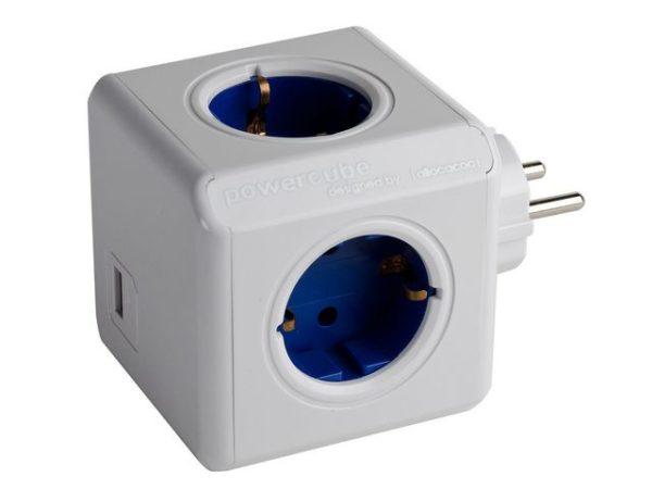 Forgrener ALLOCACOC 4x strøm 2x USB