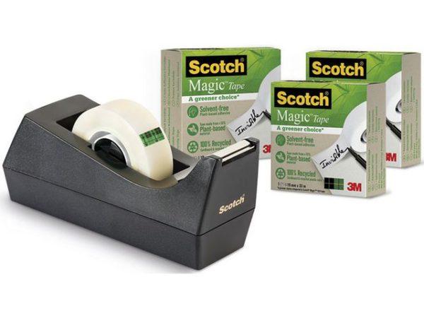 Dispenserpakke SCOTCH C38 M. Greener 3r
