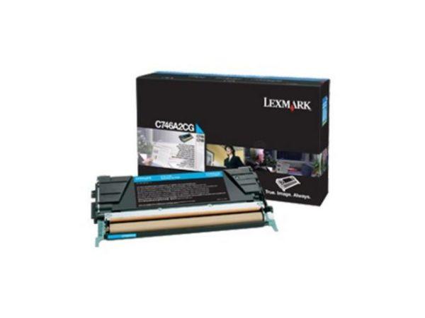 Toner LEXMARK CC C746A3CG 7K blå