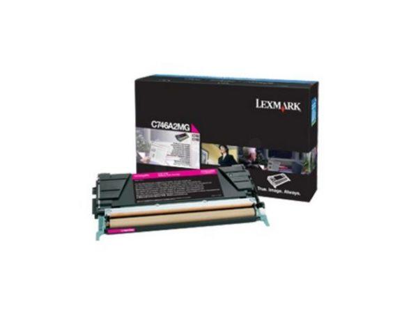 Toner LEXMARK CC C746A3MG 7K rød