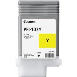 Blekk CANON PFI-107 Y