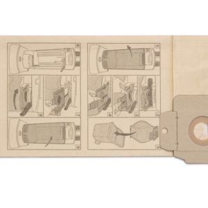 Filterpose KÄRCHER papir til CV mod (10