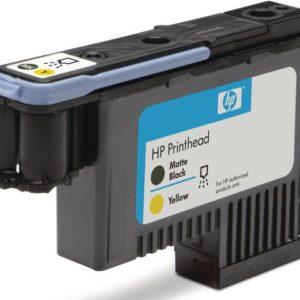 Skrivehode HP C9384A Serie 72 sort/gul