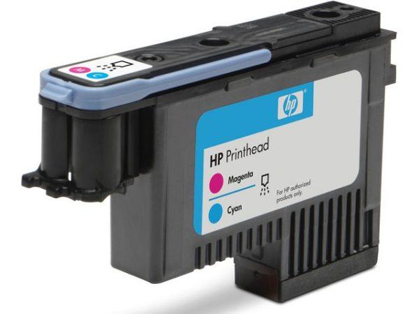 Skrivehode HP C9383A Serie 72 rød/blå
