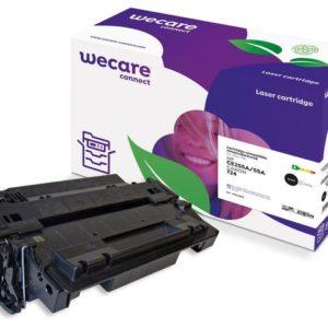 Toner WECARE HP CE255A/CANON 724 Svart