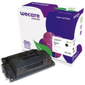 Toner WECARE HP CC364X Svart
