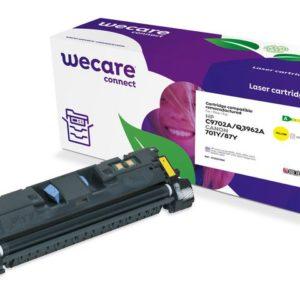 Toner WECARE HP C9702A/Q3962A Gul