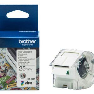 Etikett BROTHER CZ1004 25mm