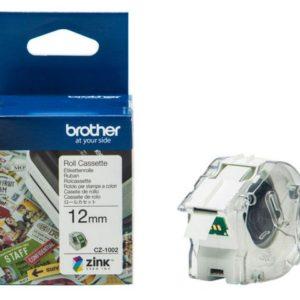 Etikett BROTHER CZ1002 12mm
