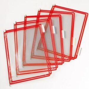 Lomme TARIFOLD A4 toppåpning rød