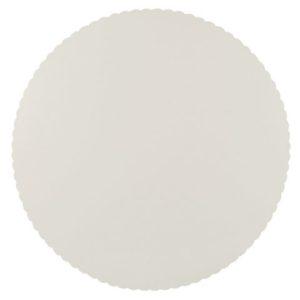 Kakeunderlag PAPSTAR Ø28cm hvit papp (6