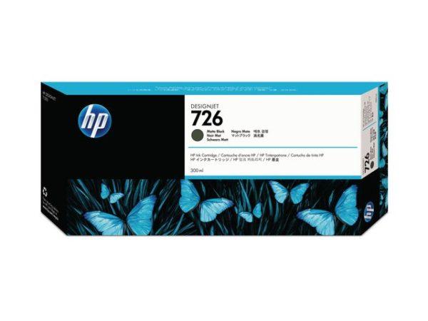 Blekk HP 726 CH575A matt sort