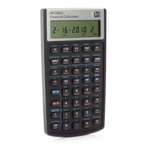 Kalkulator HP 10BII Finans Algebraisk