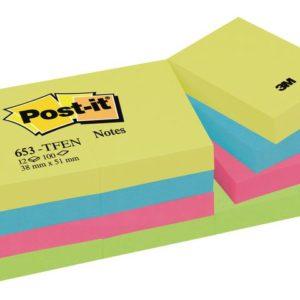 POST-IT notatblokk 38x51mm ultra (12)