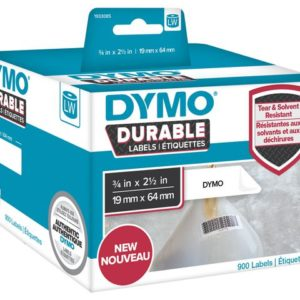 Etikett DYMO Durable 19mm x 64mm 900/FP