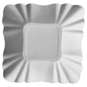 Demoskål PURE 9x9x3cm hvit (250)