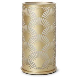 Lysholder DUNI 140x75mm peacodk gold
