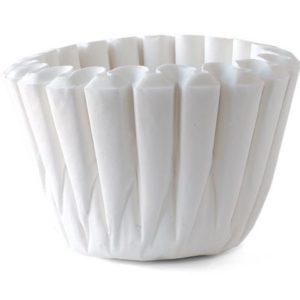 Kaffefilter Catering 90mm hvit (250)