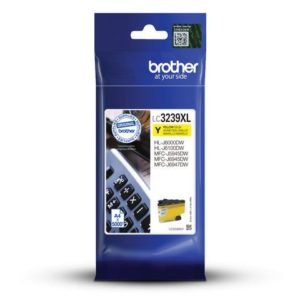 Blekk BROTHER LC3239XLY gul