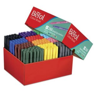 Fiberpenn BEROL Colourbroad (288)